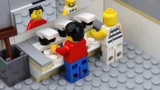 Lego Toilet Fail -  Unlucky Lego Man thumbnail