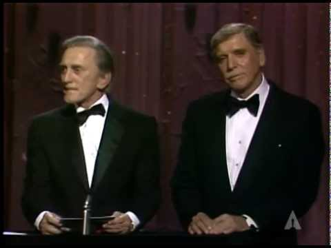Robert Benton and Peter Shaffer winning Writing Oscars®