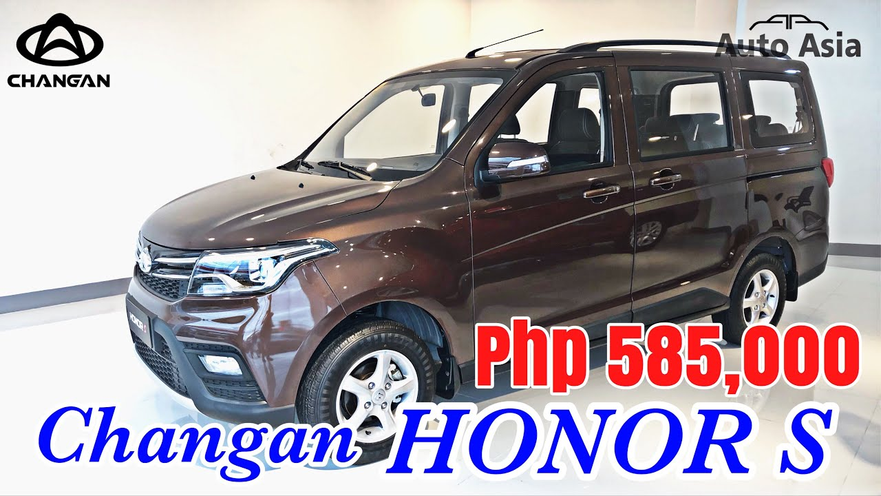 2019 Changan Honor S 8 Seaters Philippines Youtube