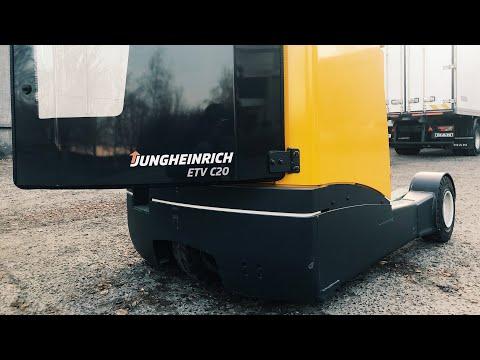 Электрический штабелер с выдвижной мачтой Jungheinrich ETV C20/ Jungheinrich Reach Truck ETV C20
