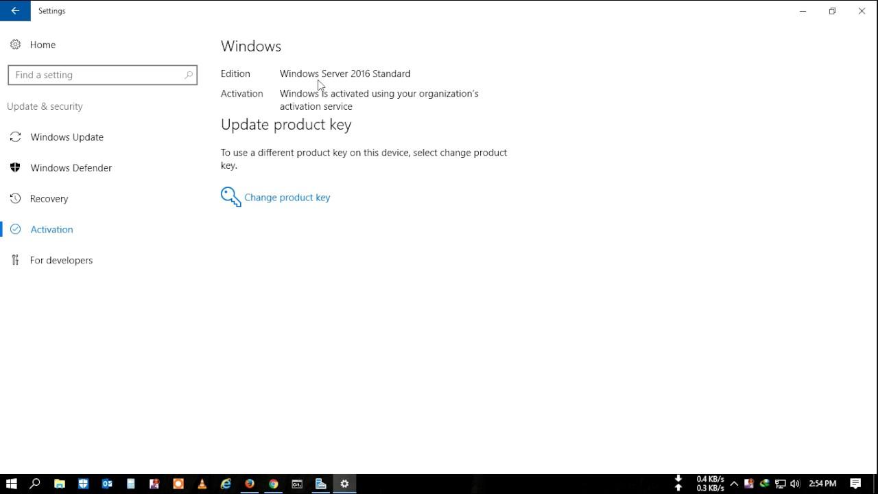 check windows key status