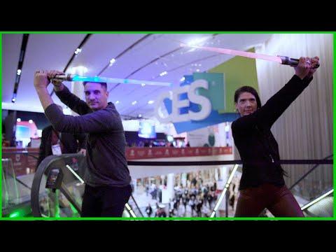 Tech Up Presents: Star Wars Lightsaber Academy Interactive B