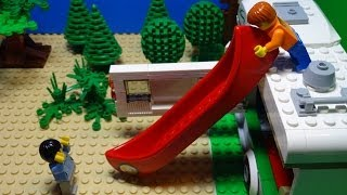 LEGO City 2014 Camper Van: Stop Motion