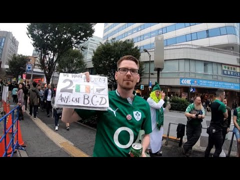 New Zealand v Ireland - Rugby World Cup 2019 National Anthems