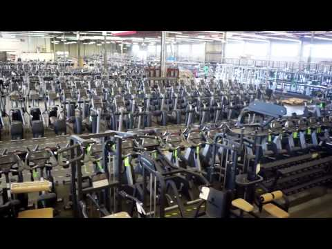 UsedGymEquipment.com Warehouse Used Gym Equipment Factory