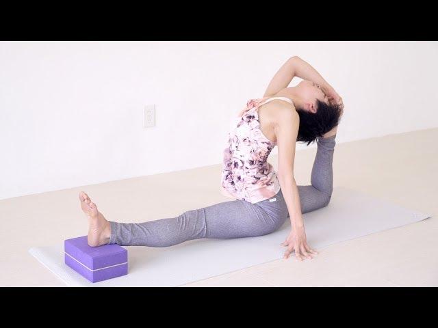 柔らかさん向けヨガストレッチ1 Yogalog