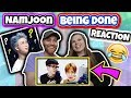 namjoon being done with bts' english HILARIOUS REACTION