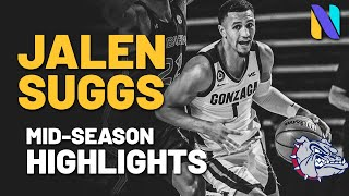 Jalen suggs gonzaga bulldogs 2020-2021 mid season highlights