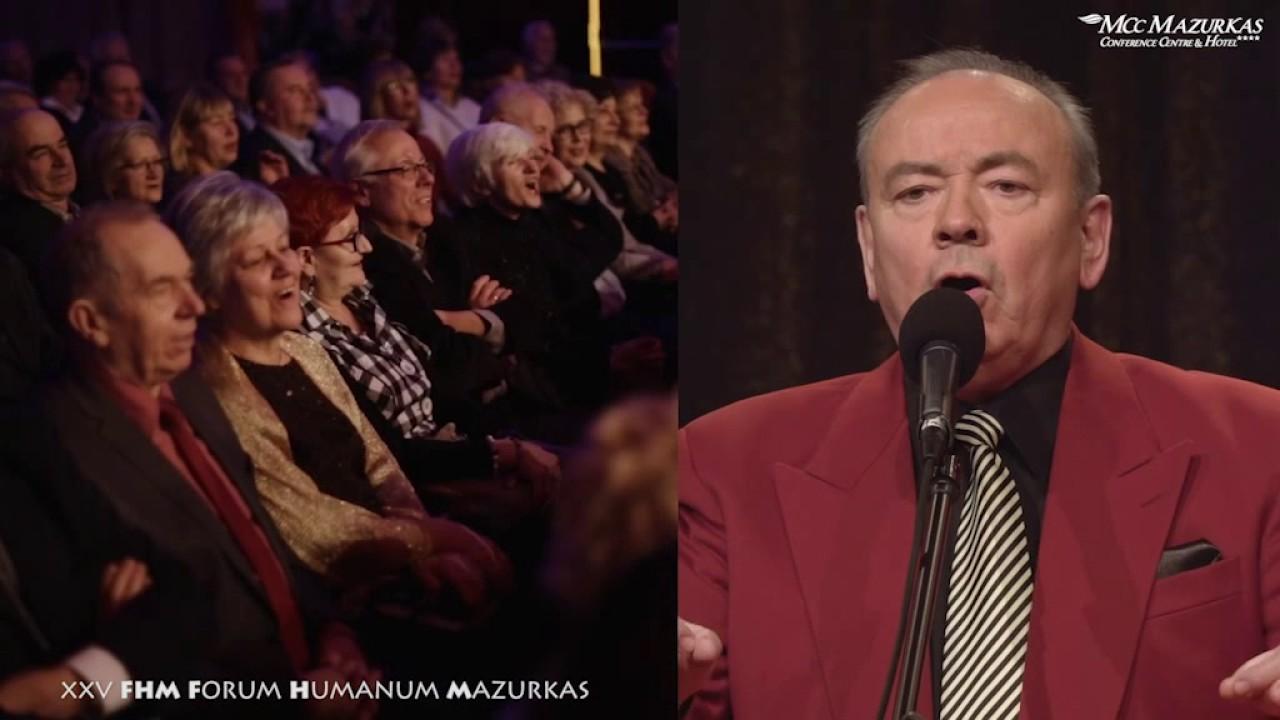 XXV FHMazurkas - benefis Z. Słowińskiego - Andrzej Dyszak - parodie na bis....