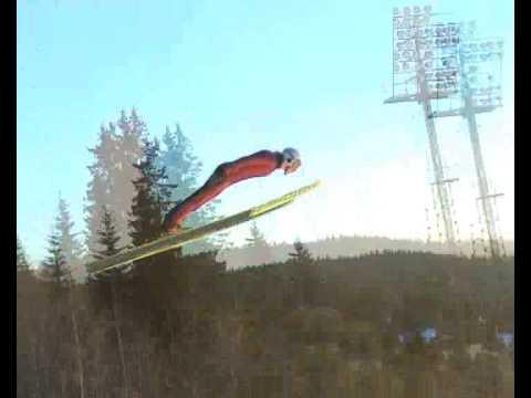 Beatiful day for skijumping