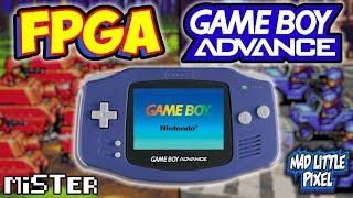 FPGA Game Boy Advance! Setup & Demonstration On MiSTer!
