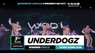 Underdogz  3rd Place Team  Winners Circle  World of Dance Hong Kong Qualifier 2019  #WODHK19
