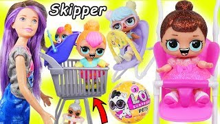 LOL Surprise Dolls + Lil Sisters Shop at Fake Toy Store