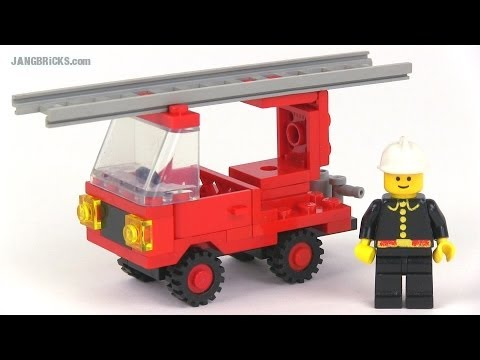 LEGO classic Town 6621 Fire Truck from 1984
