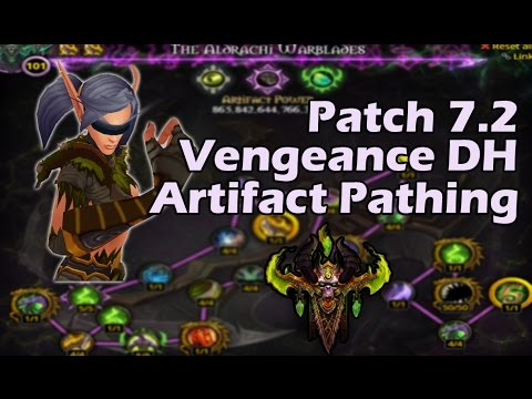 7.2 Vengeance Demon Hunter Artifact Path