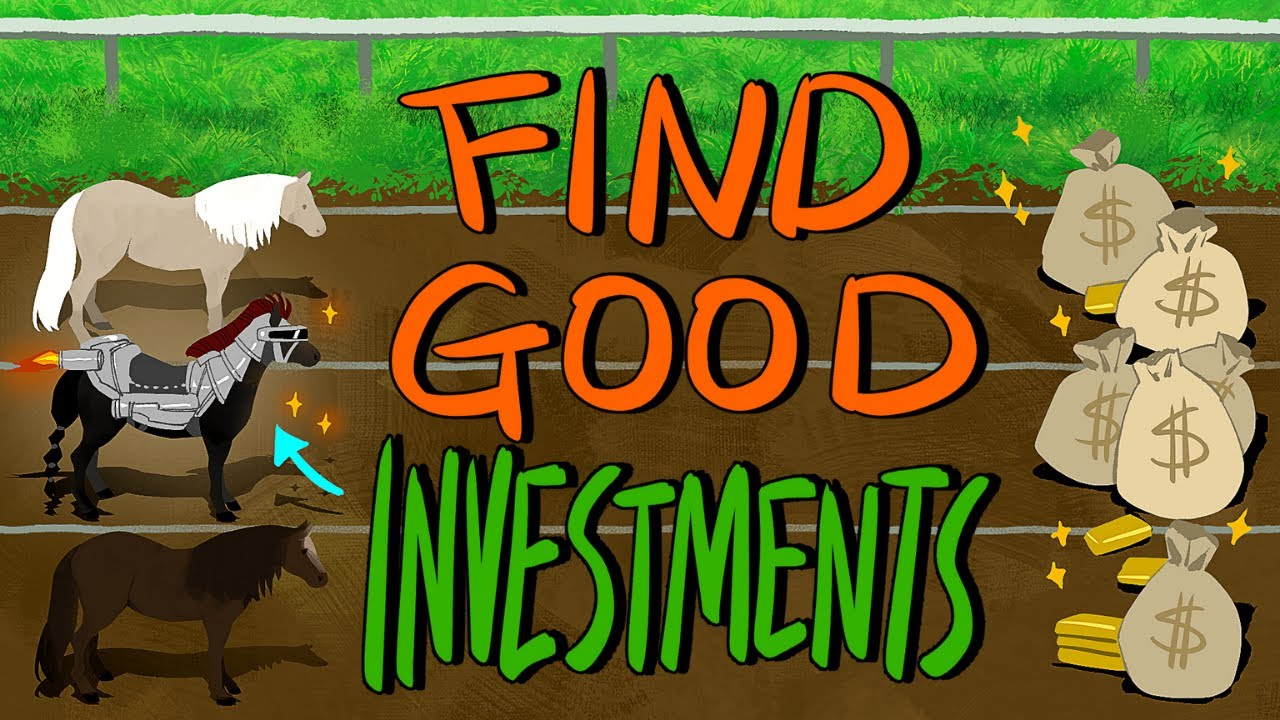 How I Find Good Investments