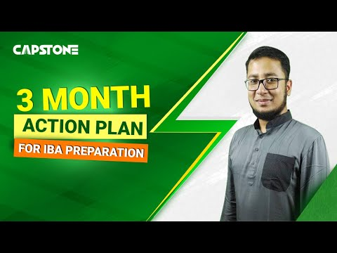 3-Month Action Plan For IBA Preparation