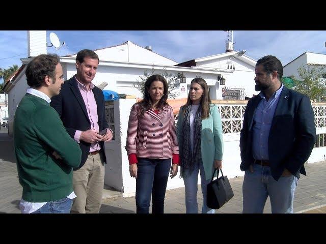 La Delegada de Turismo visita Cartaya para conocer las necesidades turísticas del municipio