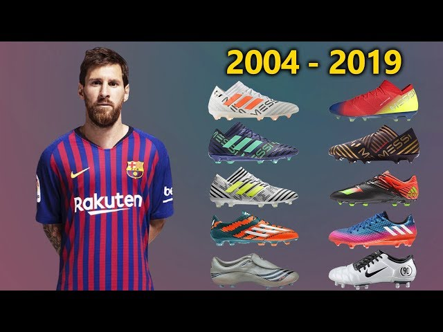 LIONEL MESSI - New Soccer Cleats \u0026 All