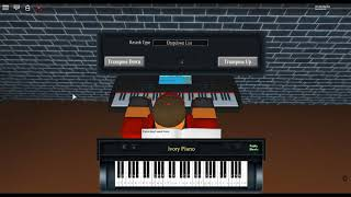 iPhone Ringtone - Microsoft by: Alexander Graham Bell on a ROBLOX piano. [Beginner]