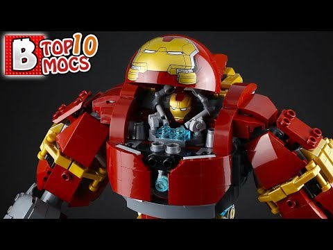 That is ONE INSANE LEGO HULKBUSTER!   TOP 10 MOCs of the Week
