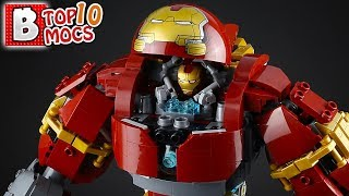 That is ONE INSANE LEGO HULKBUSTER! | TOP 10 MOCs of the Week