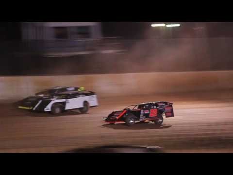 1/2 Rice Lake Speedway 4/22/17 Jeff Spacek Modified Heat Race
