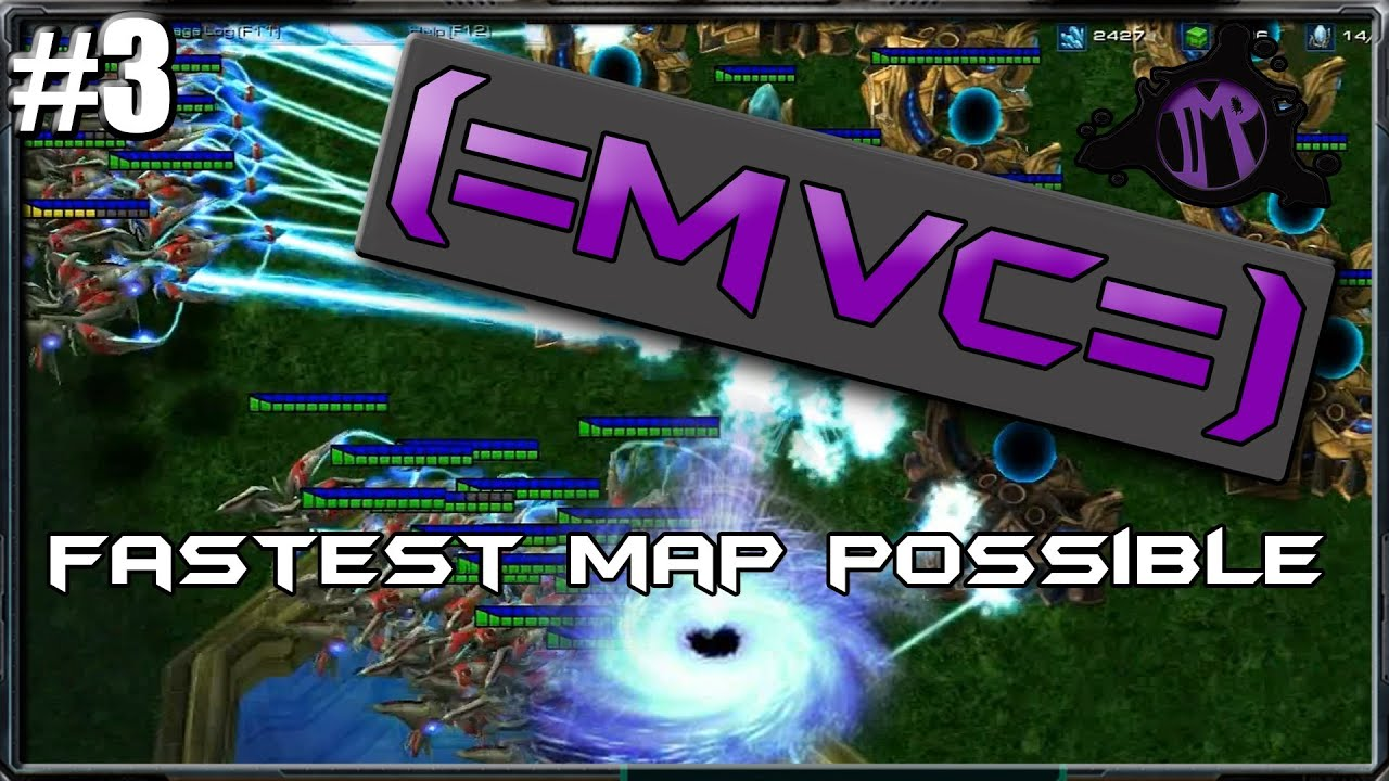 (=MVC=) Starcraft 2 Custom Games: Fastest Map Possible