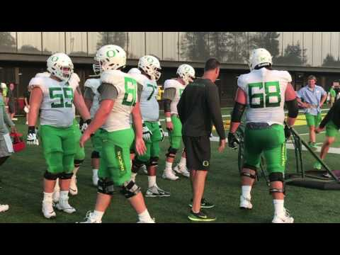 Oregon Ducks football: Sights and sounds from Day 7 of fall camp