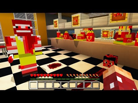 Do NOT Go to McDonalds in Minecraft Pocket Edition...