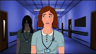 The Most Creepy HOSPITAL Animated Horror Film - Horror Stories Hindi Urdu