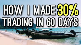 How I Made 30% Consistent Trading in 60 Days | Growth Stocks Trading Strategy