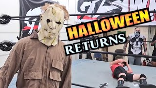 Halloween Came Early! (Movie Villian Returns to GTS - 2018)