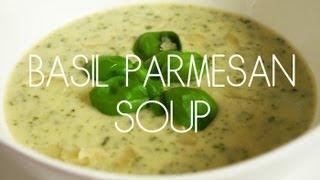 Basil Parmesan Soup