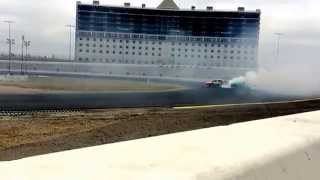 Slow motion Formula Drift Texas 2014 Thursday testing Fredric Aasbo Scion tC Turbocharged 4cyl
