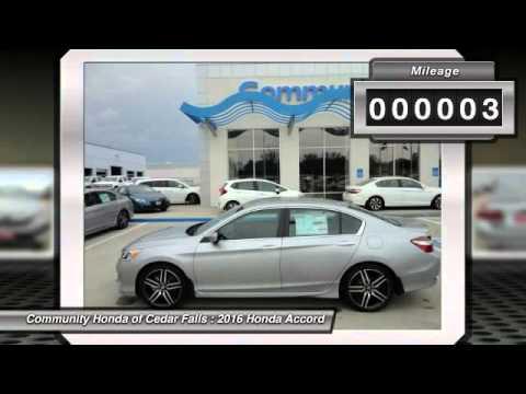 2016 Honda Accord Cedar Falls IA H9467