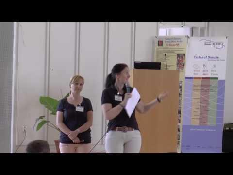 Tastes of Danube - project partners from De la Salle School, Bratislava & Illertissen
