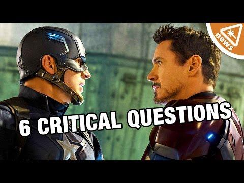 6 Critical Captain America Civil War Questions Answered!