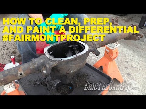 How To Clean, Prep, and Paint a Differential #FairmontProject