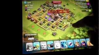 clash of clans super raiding magic awesome unicorn power nice