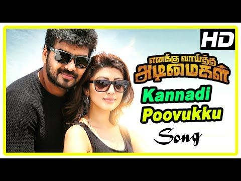 Enakku Vaaitha Adimaigal Movie scenes | Jai talks about Pranitha | Kannadi Poovukku song