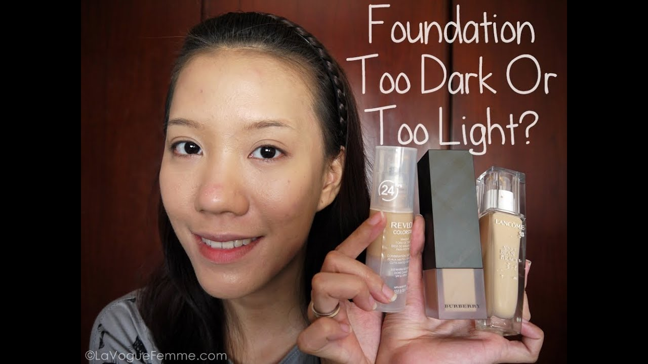 Foundation Too Dark? Try This Hack!