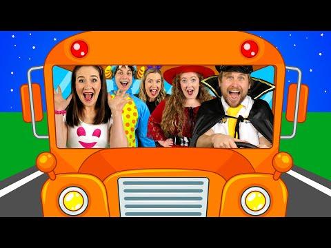Wheels On The Bus - On Halloween! 🎃 Nursery Rhymes \u0026 Kids Songs