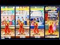 Street Fighter II KEN Graphic Evolution 1992-1996 (Super Nintendo) SNES