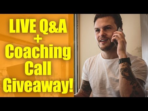 BIG ANNOUNCEMENT LIVE Q&A + 2 FREE Coaching Call Giveaways!!!