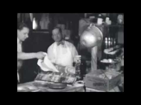 Our Grandpa Baking Pies at His Restaurant - New York NY - Circa 1930