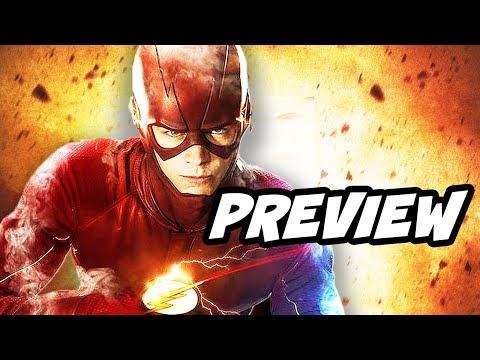 The Flash Season 4 Barry Allen Returns and Comic Con Trailer Schedule