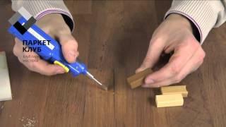 видео Отреставрировать стол своими руками: как вывести пятна и замазать царапины?