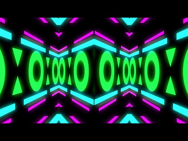 WARSNARE: Live life VFX psychedelic neon looping tunnel