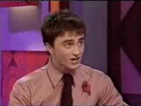 Daniel Radcliffe first on Jonathan Ross (part 1)